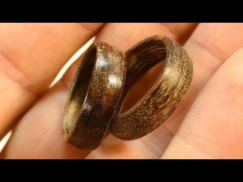 Making wooden rings