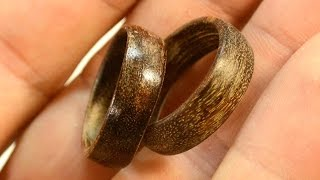 Making Wooden Rings
