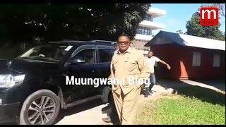 Tundu Lisu akiwasili katika mahakama ya Kisutu 3/4/2017