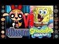 Blossom (Powerpuff Girls) vs SpongeBob (Spongebob SquarePants) - Ultimate Mugen Fight 2016