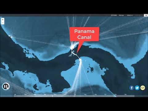 sea routes ship connector