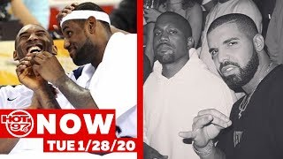 LeBron James Writes An Open Letter To Kobe Bryant + Kanye Speaks On Issue With Drake