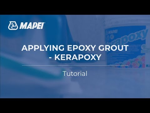 Kerapoxy - Epoxy Grout Application Tutorial