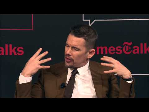 Boyhood: Richard Linklater, Ethan Hawke & Ellar Coltrane    TimesTalks