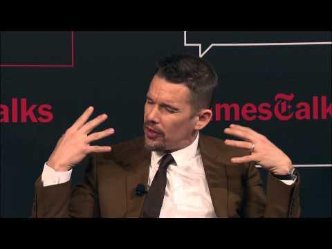 Boyhood: Richard Linklater, Ethan Hawke & Ellar Coltrane | Interview | TimesTalks