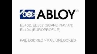 EL402 EL502 EL404 перевод замка из режима нормально закрыт в нормально открыт.(EL402 EL502 EL404 перевод замка из режима нормально закрыт в нормально открыт. www.abloy.msk.ru., 2013-08-01T15:42:04.000Z)