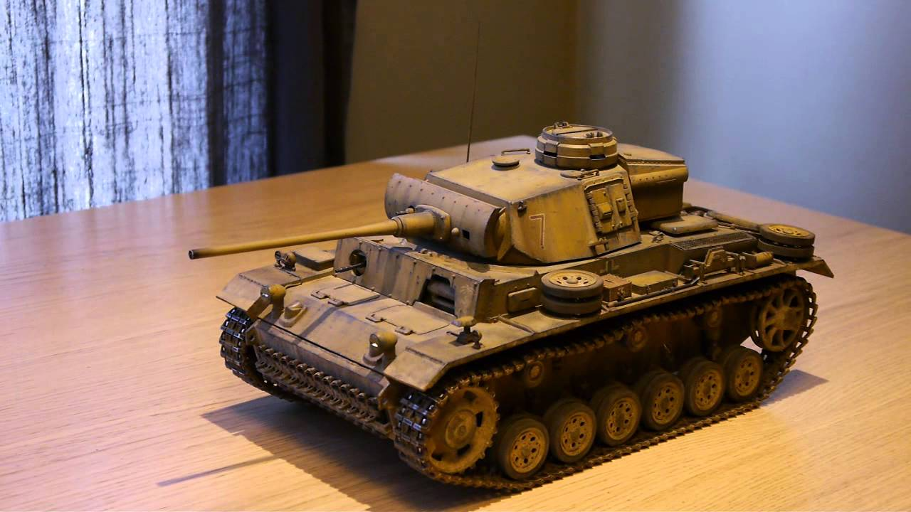 1 16 all metal german panzer pzkpfw iii ausf l rc tank. Black Bedroom Furniture Sets. Home Design Ideas