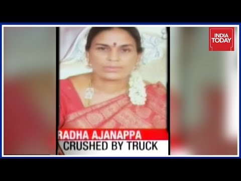 Woman Rider Crushed To Death Due To Pothole In Bangalore; Who Is To Blame ?