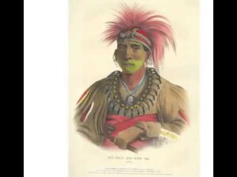 Lithographs from McKenney & Hall's History of Indian Tribes of North America