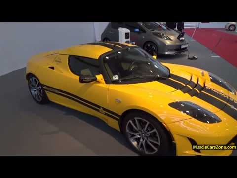 Tesla Roadster SolarWorld RuhrAuto Electric Car - 2014 Essen Motor Show