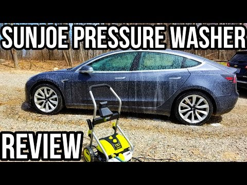 SunJoe 4000 4001 Pressure Washer Review