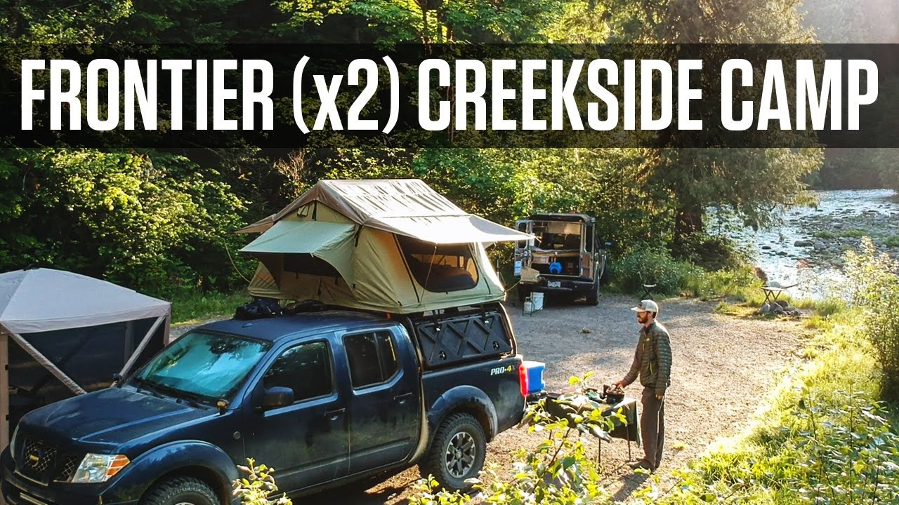 Serene Dispersed Camping Along a Wild Oregon Creek