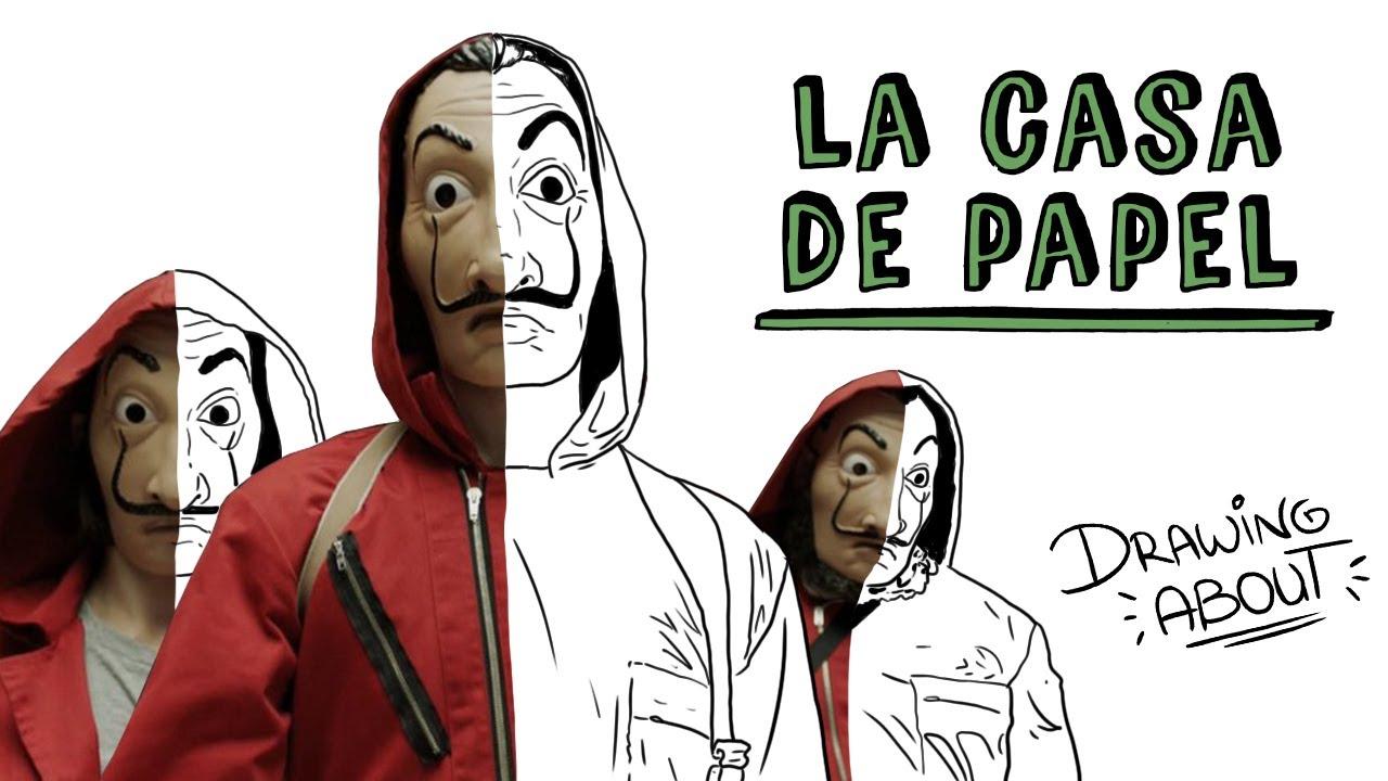 LA CASA DE PAPEL | Draw My Life
