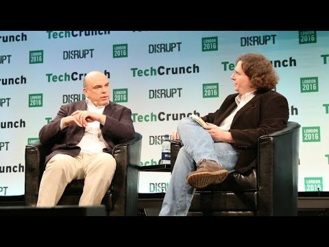 The Magic Bit with Dr. Mike Lynch at Disrupt London 2016