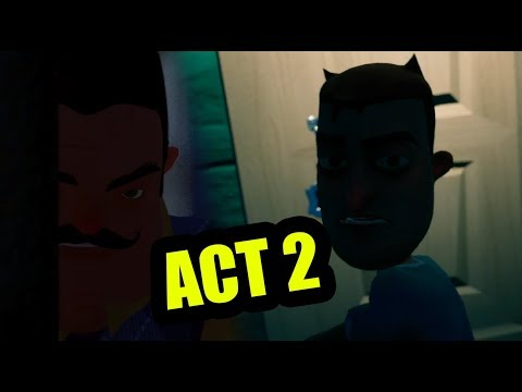Hello neighbor FULL GAME Act 2