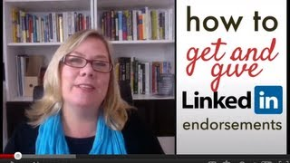 LinkedIn endorsements: how to get them and give them with Julie Hall