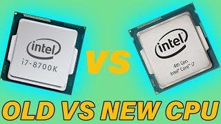 Intel 4th Gen VS 8th Gen - Any Difference?