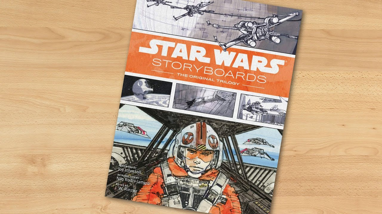 Star Wars Storyboards The Original Trilogy Youtube