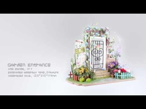 Robotime Mini dollhouse Garden Entrance DGM02