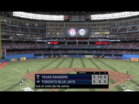 MLB 17 The Show: Postseason  Texas Rangers @ Toronto Blue Jays AL Wildcard