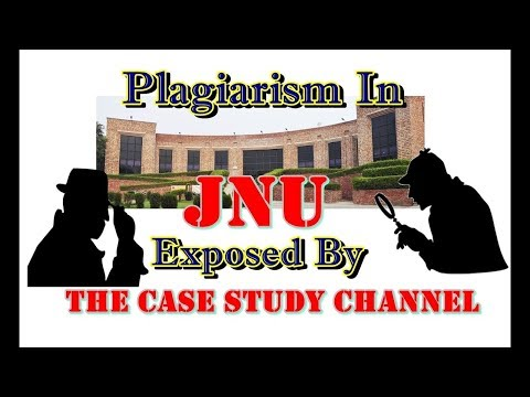 Plagiarism In JNU  Exposed by The Case Study Channel | Expose Series Episode : 1 | Hindi