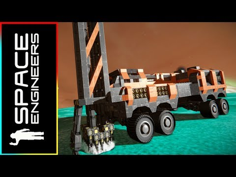 Mobile Drilling Rig - Space Engineers (Vanilla + DLC)