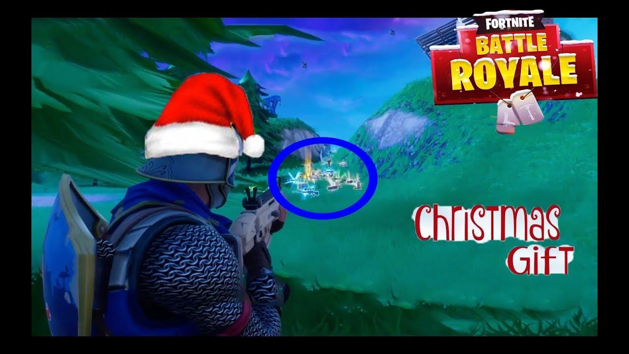 Fortnite Battle Royale Christmas Gift Youtube