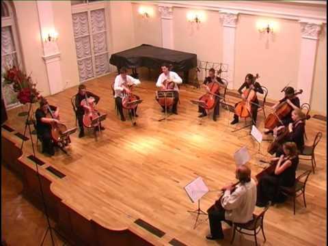 F. Schubert: Marche militaire, D 733 (cello ensemble)