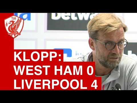 West Ham 0-4 Liverpool: Jurgen Klopp Post-Match Press Conference