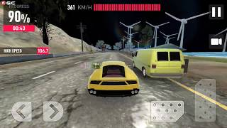 "Car In Traffic 2018 - Sports Car Speed Racing Games - Android Gameplay FHD ""Power Up"" #6"