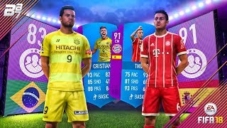 BRAND NEW LEAGUE SBCS UNLOCKED! 83 CRISTIANO AND 91 THIAGO! | FIFA 18 ULTIMATE TEAM