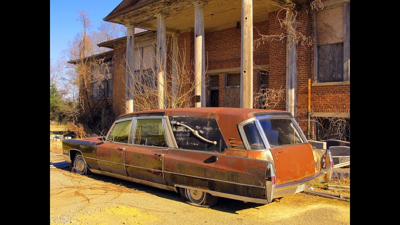 Abandoned Funeral Home Left To Rot
