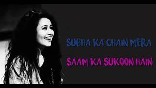 Subah ka chain mera....Neha kakkar new song....!! whtsapp Video Status