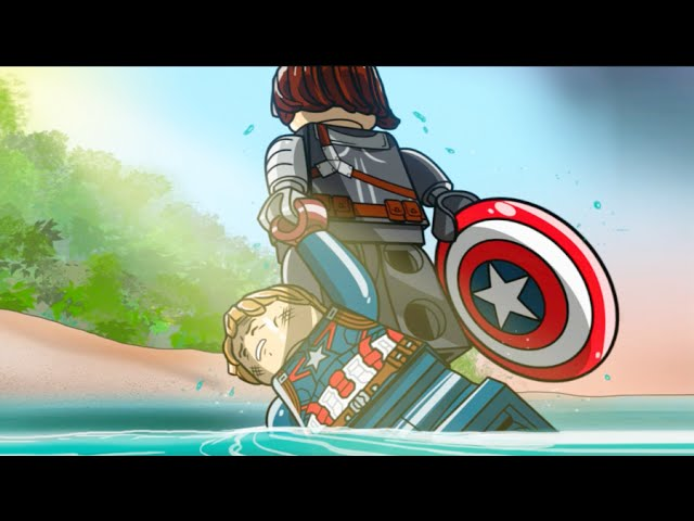 Lego Marvels Avengers Winter Soldier Final Boss Fight Capt America The Winter Soldier