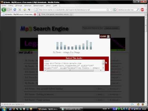 www.mp3se.co.cc Un moteur de Recherche audio et Mp3 de qualité