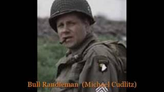 Easy Company Real Veterans/Soldiers, With the Band Of Brothers Actor's