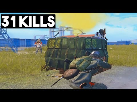 BEST DROP EVER? | 31 KILLS SOLO vs SQUAD | PUBG Mobile 🐼
