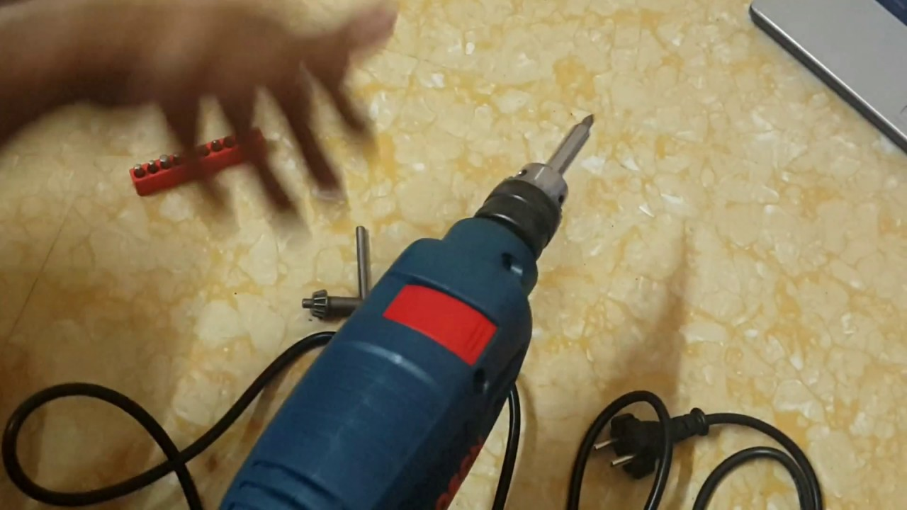 Bosch GSB 450 RE drilling machine Review and unboxing ...