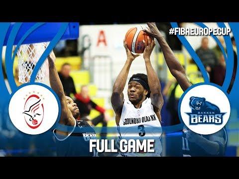 LIVE🔴 - Szolnoki Olaj (HUN) v Bakken Bears (DEN) - FIBA Europe Cup 2017-18