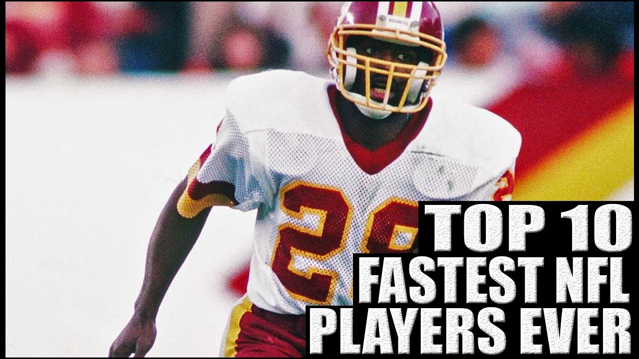 Top 10 Fastest NFL Players Ever