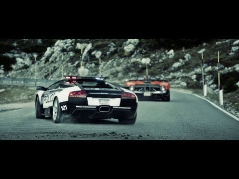 Pagani vs Lamborghini Need for Speed Hot Pursuit