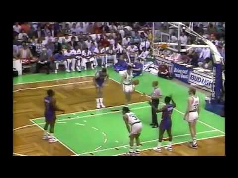 1987 NBA ECF DETROIT BOSTON Game 5