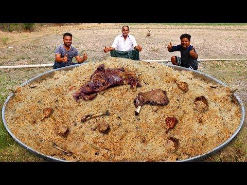 Ramadan Special Mutton Mandhi Recipe | How to cook Arabian Traditional Mandhi Rice