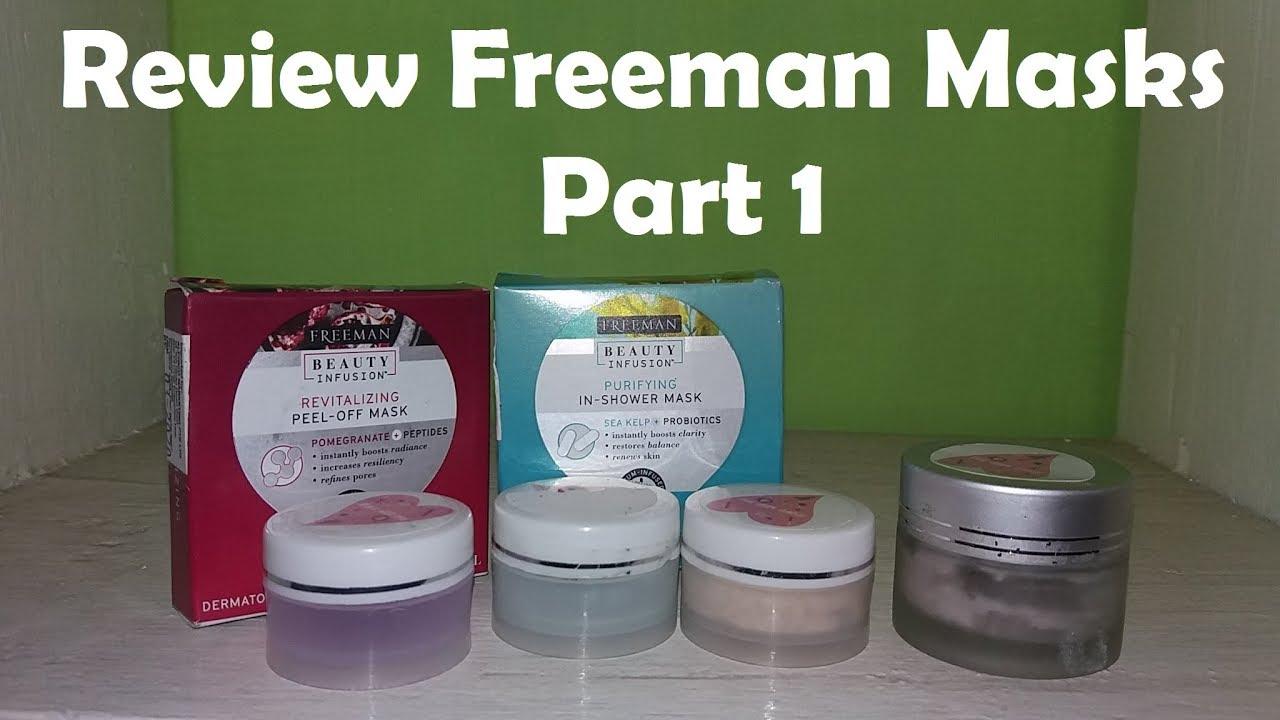 Review Freeman Beauty Infusion Part 1 Bahasa Youtube Masker Wajah Revitalizing Pomegranate Original Po