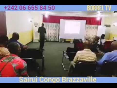 Conférence SAIRUI au CONGO Brazzaville