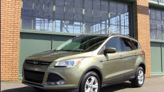 2013 Ford Escape & Kuga Revealed Inside & Out