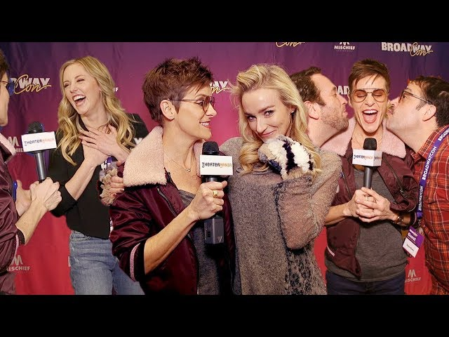 Jenn Colella Takes Us on a Walking Tour of BroadwayCon 2019