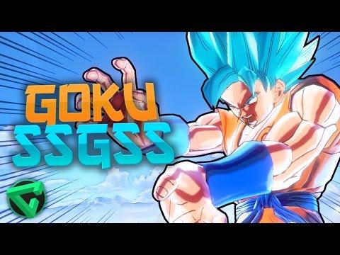 DRAGON BALL XENOVERSE: GOKU SUPER SAIYAJIN DIOS SUPER SAIYAJIN | iTownGamePlay