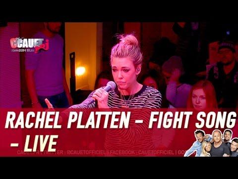 Rachel Platten - Fight Song - Live - C'Cauet sur NRJ