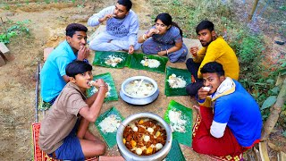 Layer Mutton BIRYANI Picnic | Village Style Winter Picnic with Mutton Biryani cooking by Limu